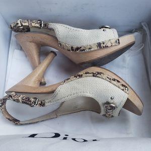 Dior MY DIOR clog 38 with box